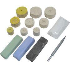 Mini Kit polissage métaux grossiers amende moyenne Mops 1 et 1,5 et 2pouce Mops