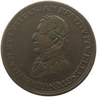 CANADA TOKEN HALF PENNY 1812 WELLINGTON #c18 327