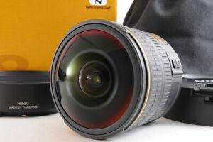 【 Top Mint +】 Nikon Af-s Fisheye Nikkor 8-15mm F/3.5-4.5 e Ed Af Lens HB-80 Box