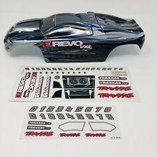 Traxxas E-Revo VXL 1/16 - Silver BodyShell - Body Shell -Decals - Genuine Part