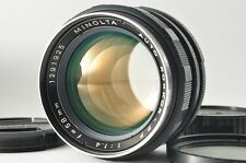 Exc+++ MINOLTA AUTO ROKKOR-PF 58mm f/1.4 MF Lens Filter from Japan #1943