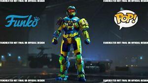 Halo Infinite Funko Armor Coating & Funko Emblem [Rare, Hot, & New] Code