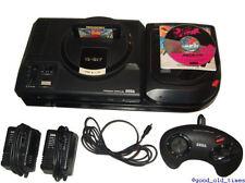 ## SEGA Mega-CD 2 + Mega Drive 1 + Pad + Spiele + Strom- & TV-Kabel ##