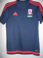 middlesbrough year 2015 ramsdens football training shirt size small good cond