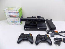 Xbox 360 Elite Console + Kinect + 2x Wireless Controller + 15X Games