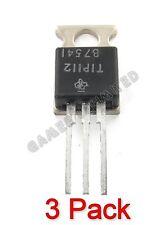 3 x Texas Instruments TIP112 NPN Darlington TRANSISTOR TO-220AB