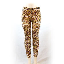Elixir Leopard Print Women Rock Punk Funky Sexy Leggings Pants Leopard Leggings