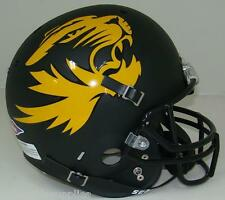MISSOURI TIGERS ALTERNATE MATTE BLACK SCHUTT REPLICA FOOTBALL HELMET