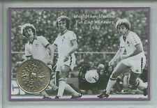 West Ham United Utd The Hammers Vintage F.A Cup Final Winners Coin Gift Set 1980