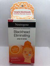 Neutrogena Blackhead Eliminating No-Pull Cleansing Pore Strip to Facial Scrub