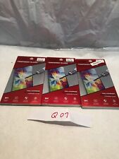 Lot Of 3 Zizo Black Tempered Glass Screen Protector for LG K7 Escape 3