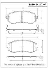 Disc Brake Pad Set-w/o ABS Front Dash 4 Brake CD422 fits 1989 Nissan 240SX
