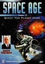 SPACE AGE - VOLUME 1 - QUEST FOR PLANET MARS DVD BRAND NEW SEALED