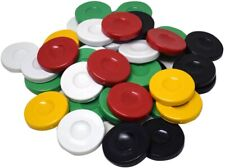 ✅✅ 30pcs BACKGAMMON Set Pieces Chips Stones Checkers - PERFECT SIZE 36mm, 1.417""