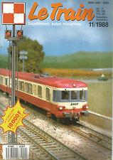 LE TRAIN N°11 PICASSO / X 4700 / GARE PLM 3 PORTES DE M.V.B / AUTORAILS / BIF