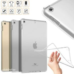 """Silicone Gel Case For iPad 10.2"""" 2020 & 2019 Gen 8th / 7th Shockproof TPU Cover"""