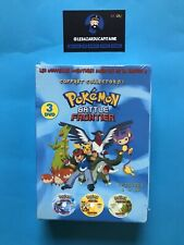 3 DVD Pokémon Battle Frontier  Saison 9 Collector N°1 Neuf sous cellophane