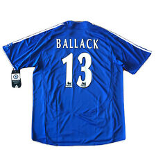 2006/08 Chelsea Home Jersey #13 BALLACK XL Adidas Soccer Football Samsung NEW