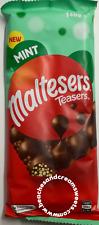 Maltesers Teasers Mint Chocolate Block 146g RARE Australian Import UK Seller