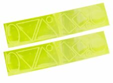 18 pc 3M Scotchlite Hi-Vis Reflective Stickers High Visibility Various Shapes