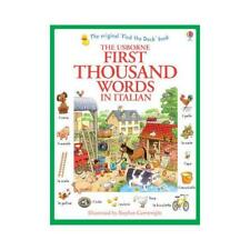 The Usborne first thousand words in Italian by Cartwright (author), S. H. Ame...