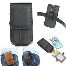 Luxury Magnetic Belt Clip Holster Carrying Card Wallet Pouch Leather Case Cover