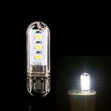 1× Portable Mini PC Laptop Reading 3 LED Bright USB Night Lamp Gadgets Light