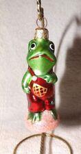 Vintage Christopher Radko Froggy Child Frog Figural Ornament