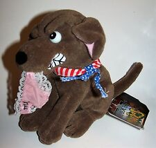 Vintage Buddy the Dog Meanie Babies Twisted Toys Plush - Infamous Series