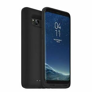 Mophie Juice Pack 3,300mAh Battery Charging Case Samsung Galaxy S8+ Plus Black