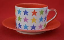 WHITTARDS :  TRADITIONAL  CUP AND SAUCER SET - STAR PATTERN -  GREAT CONDITION!