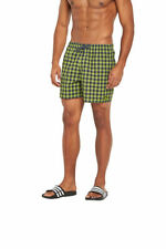adidas Polyester Checked Swimwear for Men