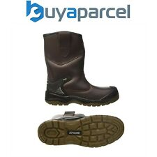 Apache AP305 Safety Rigger Boot Work Site Boot Water Proof 200J Toecap UK Size 8