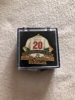 Lou Brock 1979 Retirement Pin St. Louis Cardinals Busch Stadium