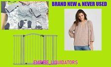 MAMA'S & BABIES - BRAND NEW SUMMER SAFETY GATE, PREEMIE SLEEPWEAR & BLOUSES