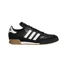 Adidas mundial goal camaleón-cuero hallenfußballschuhe negro/blanco [019310]
