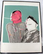 LITHOGRAPHIE « Passe-Passe » signée M. Potier Numérotée10/20 Côté Artprice