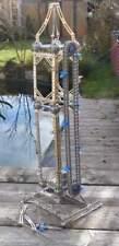 Turm, Metallbaukasten mit Förderband, Elektromotor, - 71 cm hoch