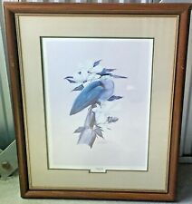Art LaMay Marsh Lord  1567/1700 Limited Edition Signed Framed Matted 33x25 Large