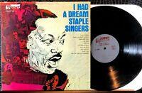 Staple Singers: I Had a Dream Vinyl LP Up Front UPF-111