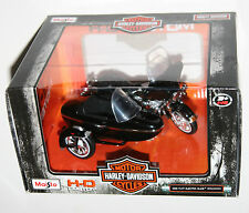 Maisto - Harley Davidson 1998 FLHT ELECTRA GLIDE STANDARD + SIDECAR Scale 1:18
