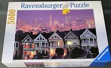Ravensburger San Francisco Skyline 5000 Piece Jigsaw Puzzle Painted Ladies SF CA