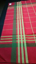 "Vintage 52"" 52"" Scandinavian woven tablecloth - made in Finland"