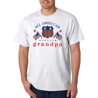 Gildan T-shirt All American Grandpa Grandfather grand father