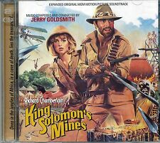 Jerry Goldsmith KING SOLOMON'S MINES score Expanded 2CD 1000-Ltd sold out SEALED