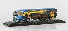 "1:87 HERPA 120364 DAF XF tractor semitrailer ""Herzog/Wormser"" PC COLLECTIBLE"