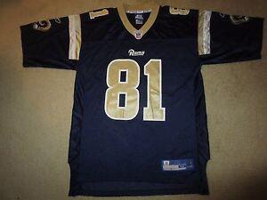 Tory Holt 2000 St. Louis Rams Reebok NFL Jersey M Medium