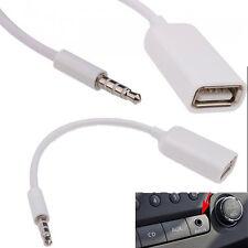 3.5mm Macho AUX Audio Plug A Usb 2.0 a Hembra Jack Adaptador OTG Convertidor de plomo