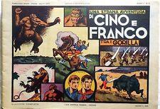 FUMETTO NERBINI CINO E FRANCO TRA I GORILLA ANNO 1 N.5 1973
