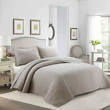 3Pcs 100% Cotton Quilt Set Bedspread, Bedspreads Lightweight Bed Coverlet Set